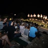 Mali glazbeni festival Park Orsula - Klapa Ragusa Vecchia i publika
