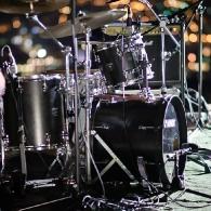 Mali glazbeni festival Park Orsula - pozornica / instrumenti