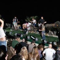 Mali glazbeni festival Park Orsula - pozornica i publika